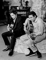Bob Dylan - Wanted man - with Johnny Cash
