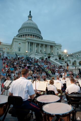 Free military concerts