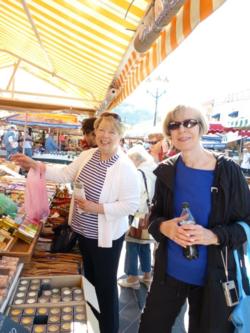 Nice Market guests