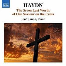 Haydn / Seven last words of our saviour on the cross (piano version)