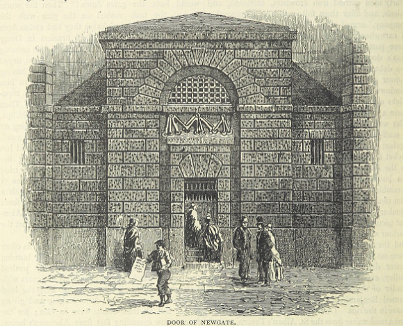 Door of Newgate Prison