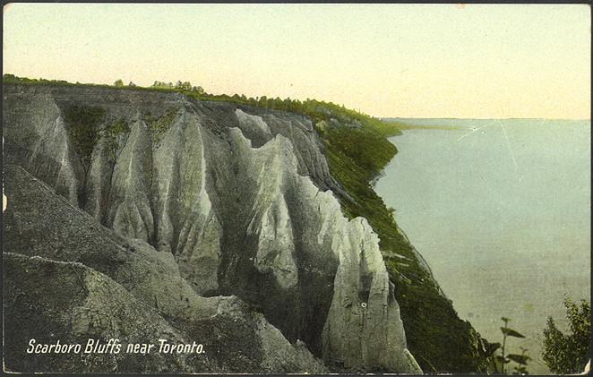 Scarboro Bluffs near Toronto PC 945