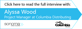 CTA for Columbia Distributing