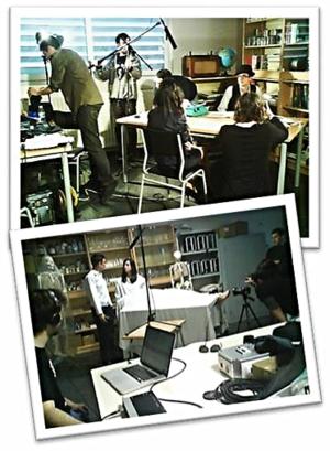 La tercera evaluación se dedicó a preparar la grabación del cortometraje