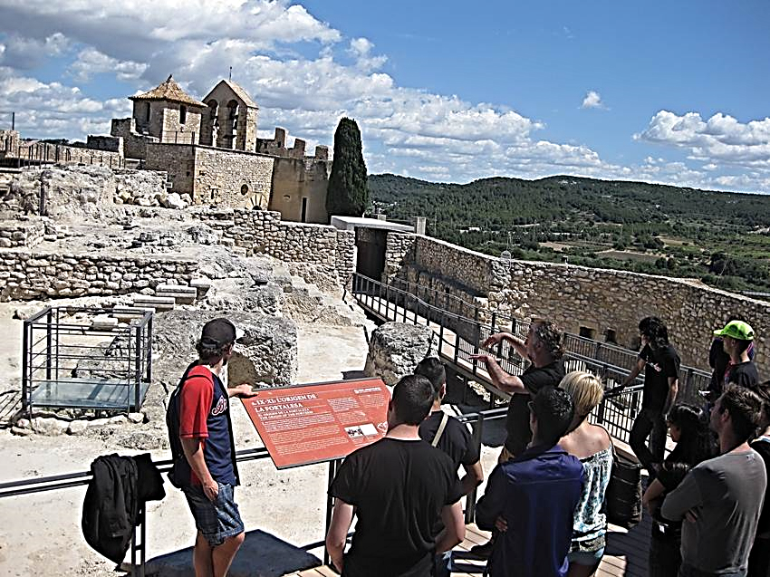 Visita al Castillo Medieval de Calafell