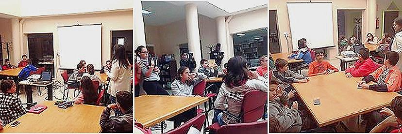 Estudiantes 1er. Curso ESO. IES 'Catima', trabajando por Proyectos