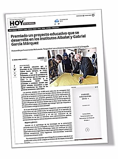 HOY NAVALMORAL.16 Abril 2015 | Miguel Ángel Marcos