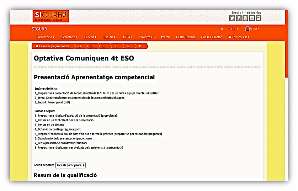 Entorno Virtual Unificado del Centro (EVUC)