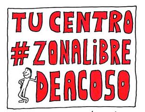Logo del Proyecto: #ZonaLibreDeAcoso |  Ramón Besonias