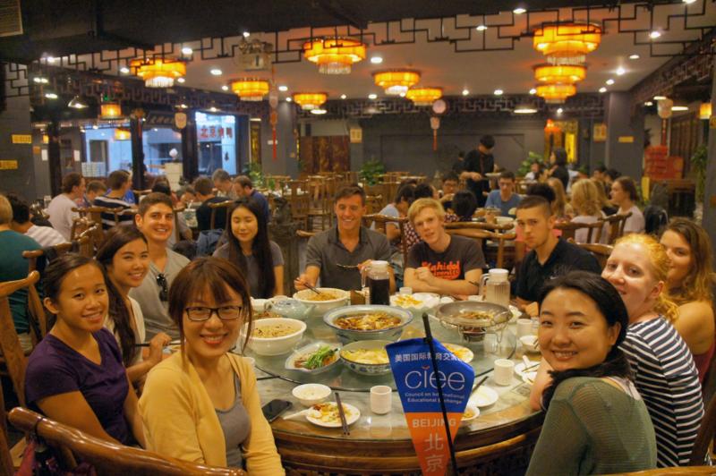 CIEE Beijing - Welcome Luncheon