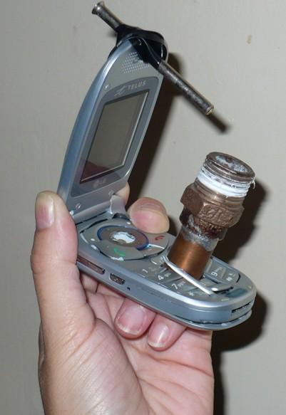 Crack phone