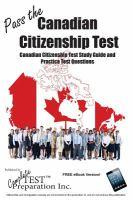 Pass the Canadain Citizenship Test