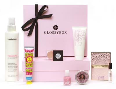 Glossybox august box