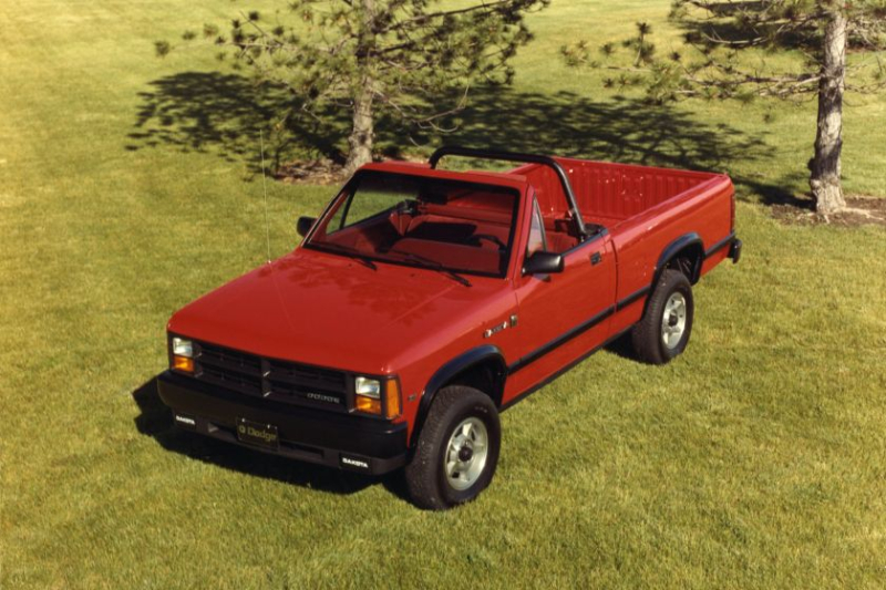 1989 Dodge Dakota Sport Convertible Exterior