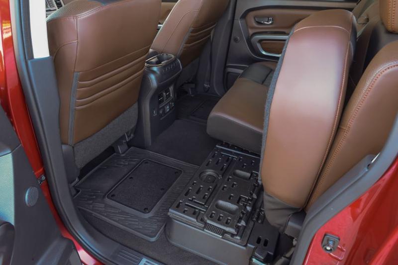 2019 Nissan Titan Platinum Reserve Folding Rear Seats