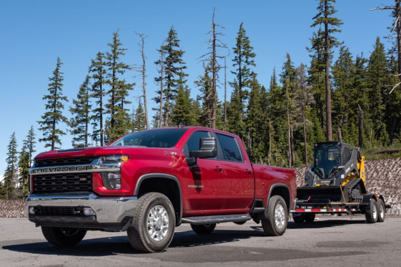 2020 Chevrolet Silverado 2500 Towing