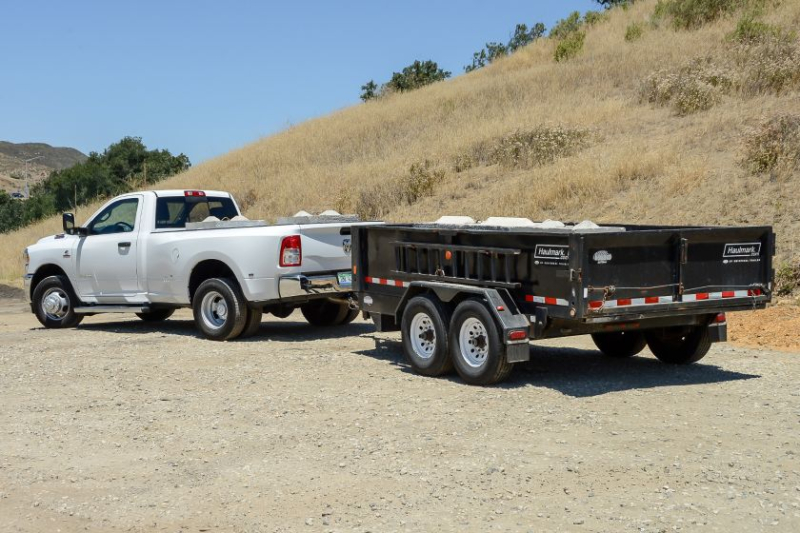 2019 Ram 3500 Tradesman Towing Trailer