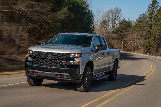 2020 Chevrolet Silverado 1500 Exterior Front