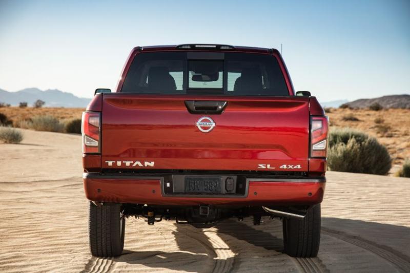 2020 Nissan Titan Tailgate