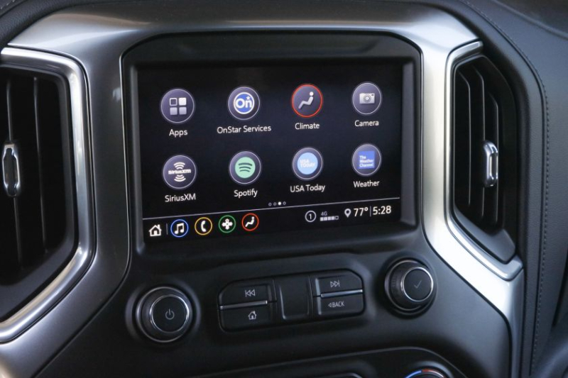 2020 Chevrolet Silverado 2500 Multimedia Display