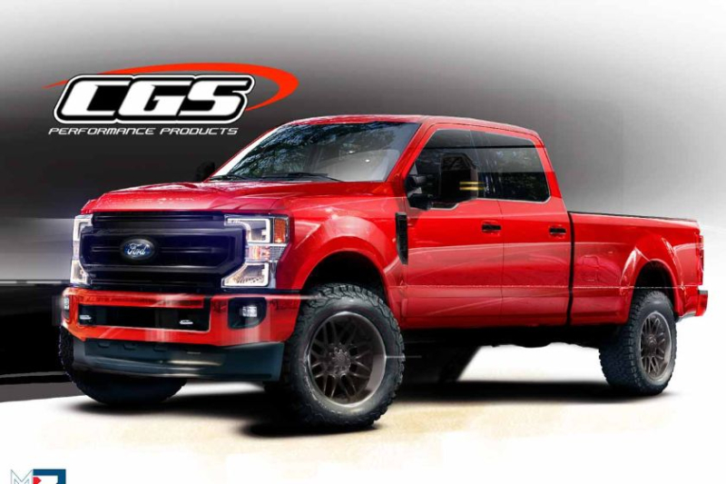 CGS Performance Products 2020 Ford Super Duty F-250 Tremor Crew Cab With Black Appearance Package