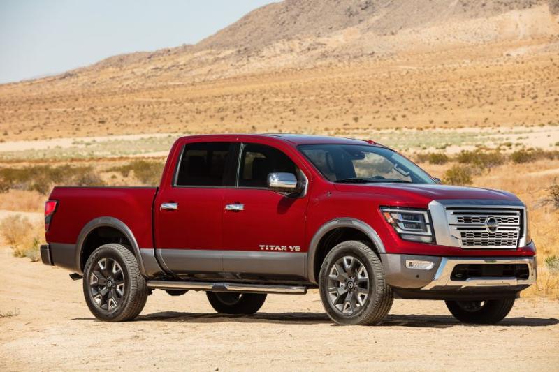 2020 Nissan Titan Front Angle Profile
