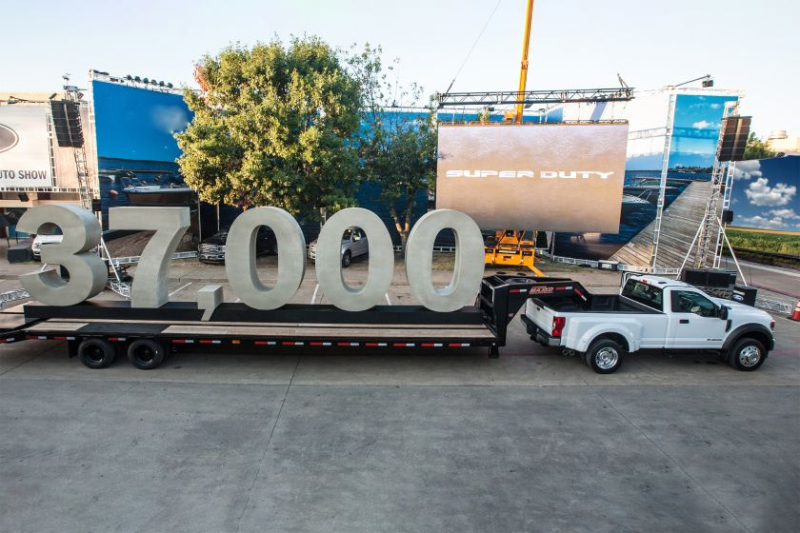 2020 Ford F-450 Towing 37,000 Pounds