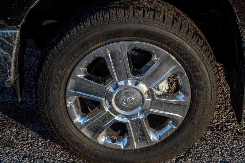 2020 Toyota Tundra 1794 Edition Machined Six-Spoke 20-Inch Wheels