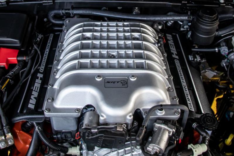 Jeep Gladiator Hennessey Maximus 1000 Engine Closeup