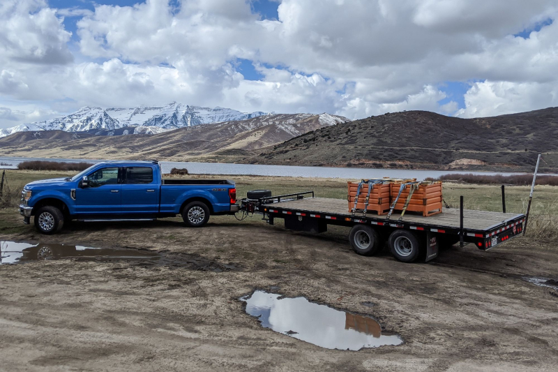 2020 Ford F-250 With Trailer