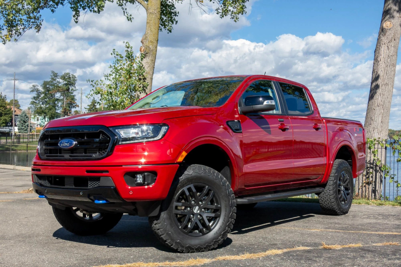 2020 Ford Ranger Performance Pack Level 2 Front Side Profile