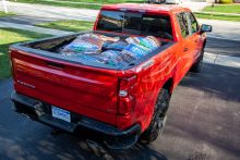 Here's What the 2020 Chevrolet Silverado Looks Like With 30 Bags of Mulch in Its Bed
