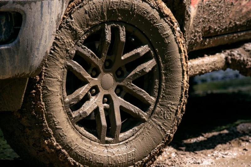 2021 Ford Ranger Tremor Lariat wheel