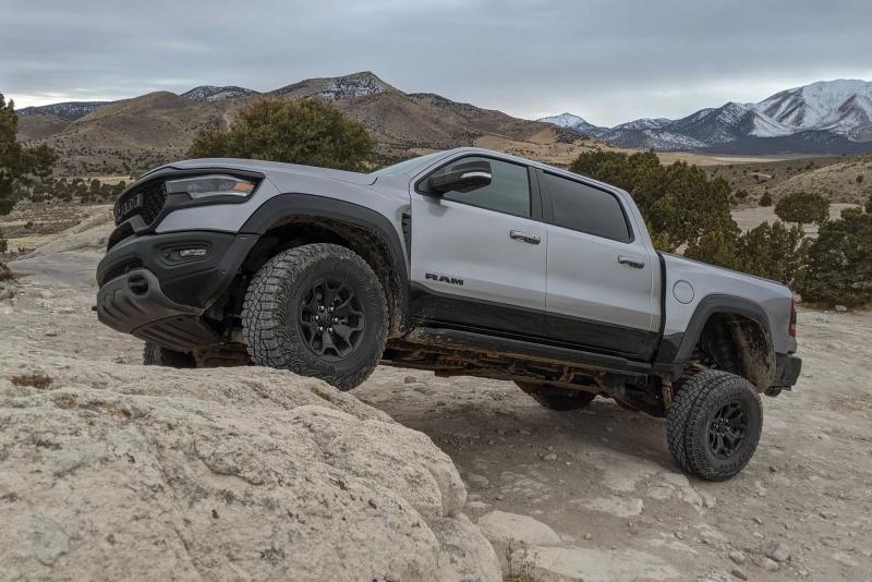 2021 Ram 1500 TRX Rock Crawling