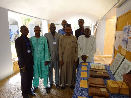 Staff of the MARA, Dr. Hassane in the centre, wearing brown (© IRSH, Université Abdou Moumouni)