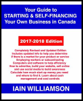 Your guide to starting and self-financing your own business in Canada