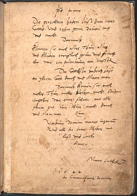 Luther inscription Zweig MS 200 f003r