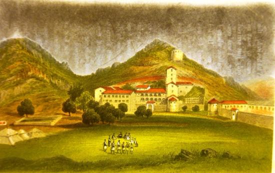 View of Cetinje Monastery