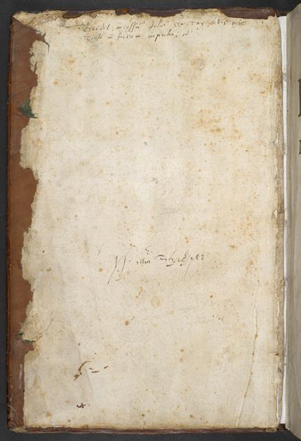 Shakespeare signature
