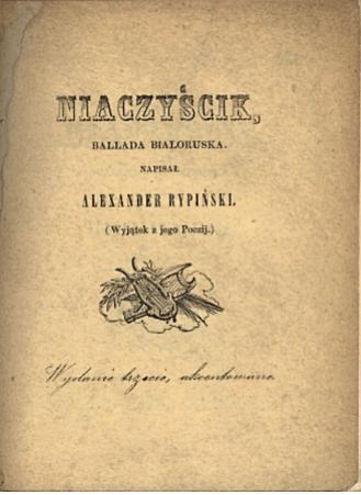 Cover of 'Niaczyścik'