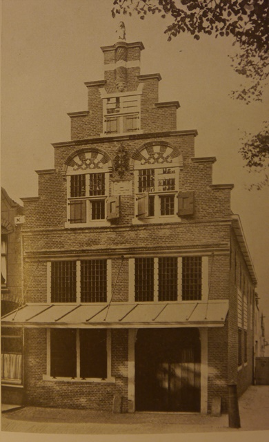Exterior photograph of the Weighing House at Oudewater