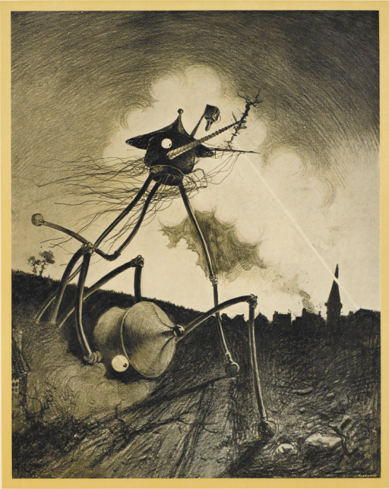 15. War of the worlds L.45-3317