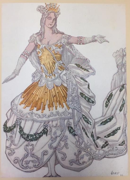 Bakst LR.23.a.8. Princess Aurora