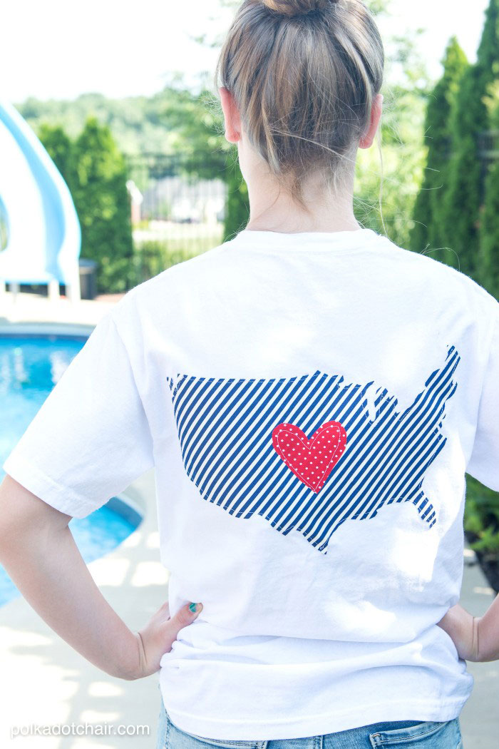 Embellished 4th of July T-shirts