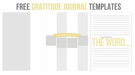 Gratitude-templates