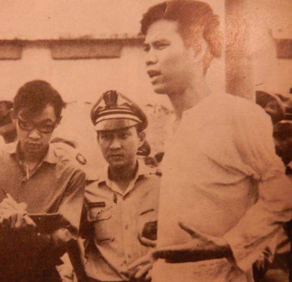 Execution of Nguyễn Văn Trỗi. Việt Nam, no.149, 1970 p. 31. British Library, SU216(2)