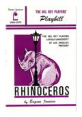 Rhinoceros, 1969