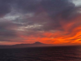 Sunset tenerife