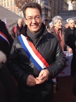 L - Philippe Cochet à Lyon Manif