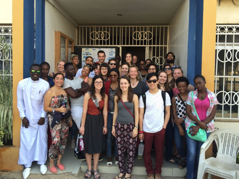 Spring 2016: downtown sortie to explore the city of Dakar